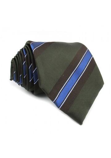 Tie silk stripes MOSCHINO