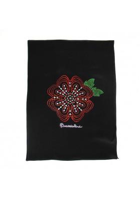 Scarf silk FLOWERS BRACCIALINI