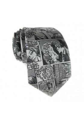 Tie silk comics MOSCHINO