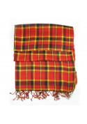 Scarf wool checks GUERRIERI