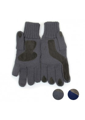 Men knitted woolen gloves  MARINI SILVANO