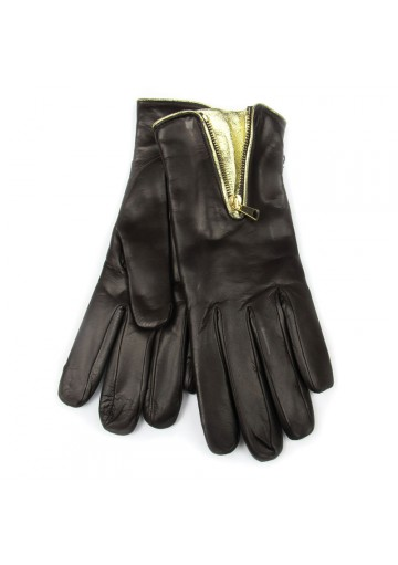 Women winter posh leather gloves BRUNO CARLO
