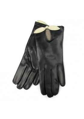 Women winter high class leather gloves BRUNO CARLO