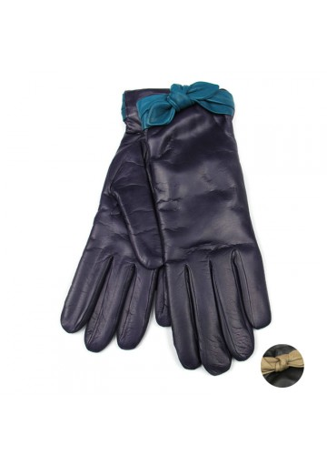 Women winter fashion gloves leather BRUNO CARLO
