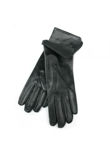 Women elegant long leather gloves BRUNO CARLO