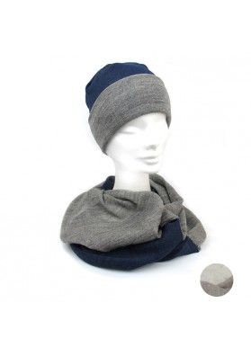 Cappello sciarpa bio lana MARINI SILVANO
