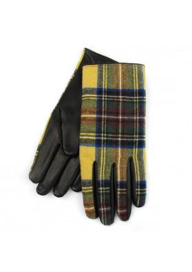 Uomo guanti in pelle e lana BRUNO CARLO