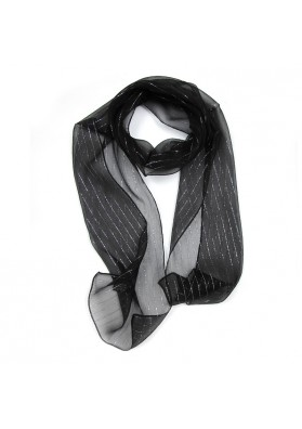 Silk scarf with stripes GUERRIERI