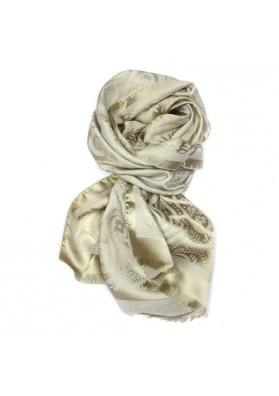 Scarf silk wool GUERRIERI