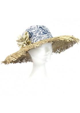 Hat straw lace MIRINI SILVANO