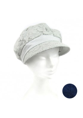 Hat linen lace MARINI SILVANO