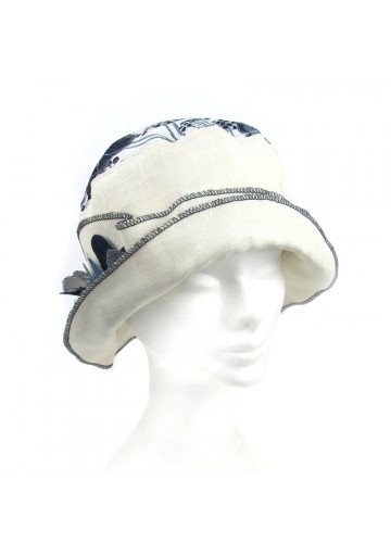 Hat linen cotton MARINI SILVANO