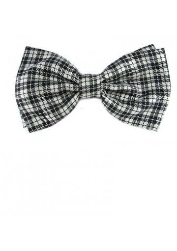 Men adjustable bow tie from silk MOSCHINO