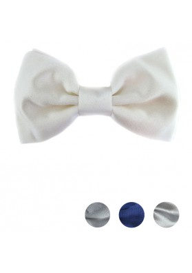 Smart classic bow tie in solid silk GIANFRANCO FERRE