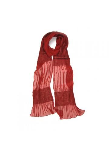 Scarf linen silk GUERRIERI