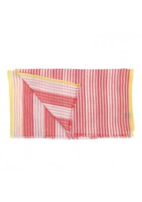 Scarf cotton stripes GUERRIERI