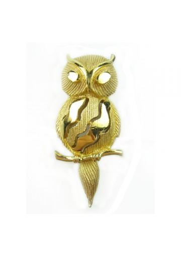 Vintage brooch OWL TRIFARI