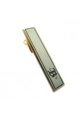 Vintage tie bar letter B HICKOK