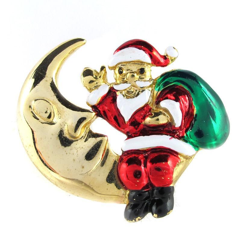 vintage pins santa