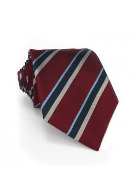 Tie silk regimental MOSCHINO