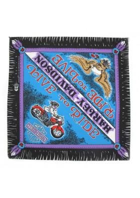 Vintage bandana MOTO HARLEY-DAVIDSON