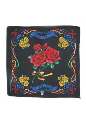 Vintage bandana ROSES HARLEY-DAVIDSON