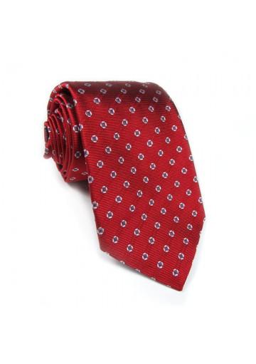 Cravatta seta a pois BALLANTYNE