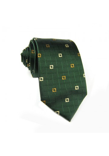 Tie silk checks GUY LAROCHE