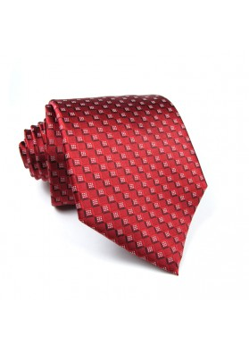 Tie silk checks S. T. DUPONT.