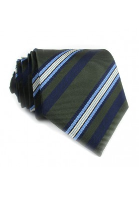 Tie silk stripes BALLANTYNE