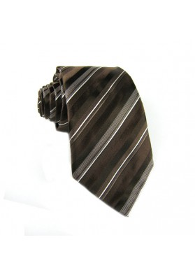 Tie silk stripes GIANFRANCO FERRE