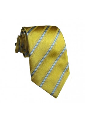 Tie silk stripes GUY LAROCHE