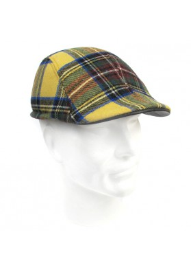 Cap wool leather BRUNO CARLO