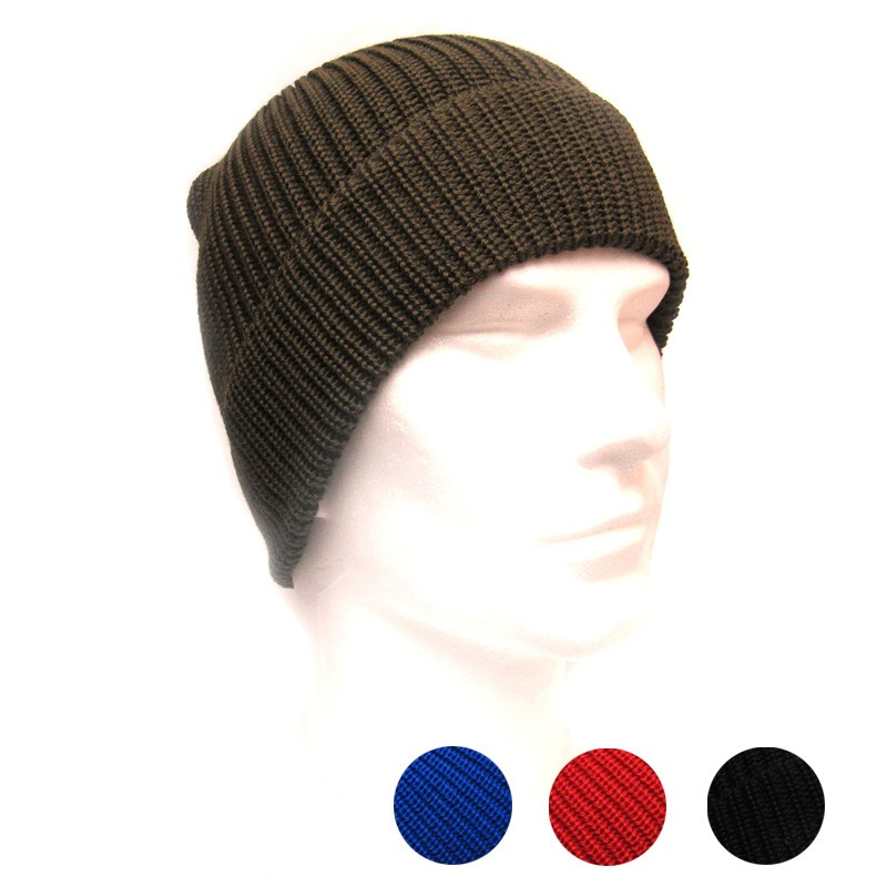 6f8d8272cf0 Beanie hat for men from wool with anti-rain cover