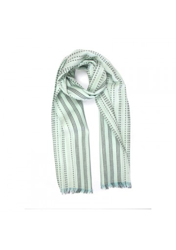 Scarf cotton stripes GUERRIERI