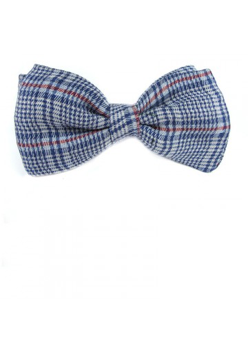 Butterfly bow tie silk from linen MOSCHINO