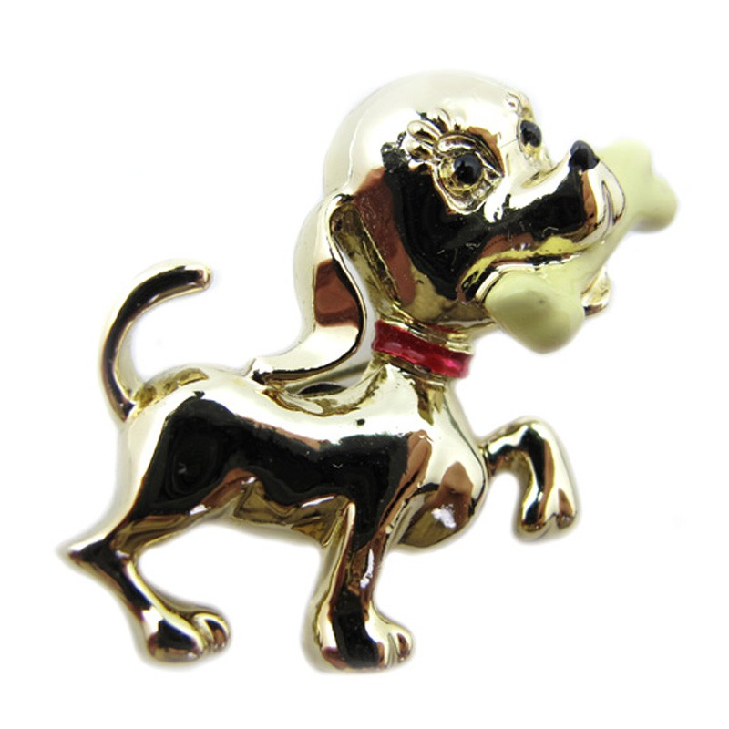 brooch jewelry vintage dog gerry pin
