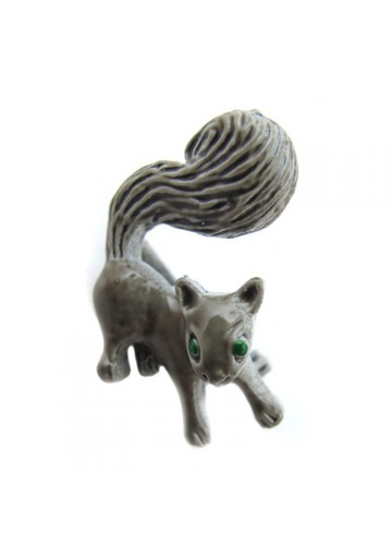 Vintage brooch SQUIRREL small GERRY'S