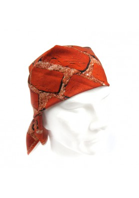 Bandana cotton BRICKS MOSCHINO