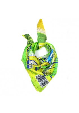 Foulard seta SODA MOSCHINO-fashion