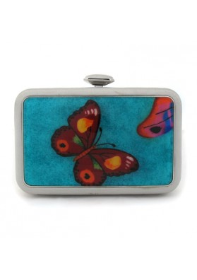 Women clutch with butterflies VILLANUEVA CAREY