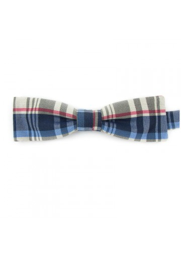 Batwings bow tie from colorful cotton GUERRIERI