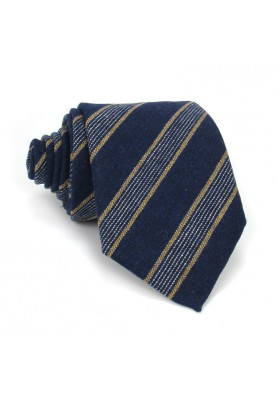 Tie regimental wool MOSCHINO