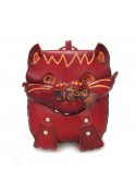 Purse CAT WITH FISH ART93