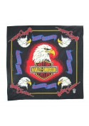 Vintage bandana FIVE EAGLES HARLEY-DAVIDSON