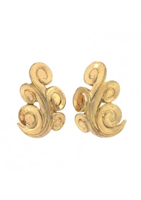 Vintage earrings CURVES TRIFARI