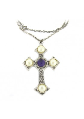 Vintage pendente CRUSADER CROSS SARAH COVENTRY