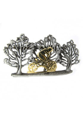 Vintage brooch CYCLIST ULTRA CRAFT
