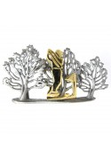 Vintage brooch GOLFER ULTRA CRAFT