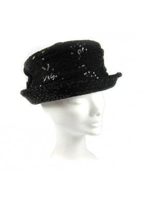Hat with sequins GUERRIERI